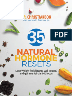 35 Natural Hormone Resets