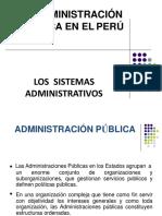 Sesion11 La Administracion Publica en el Peru y los sitemas Administrativos (2)