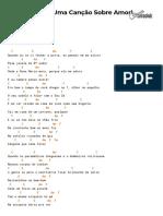 Cifra Club - Clarice Falcão - Oitavo Andar (Uma Canção Sobre Amor)