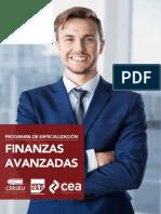 Finanzas  Avanzadas Brochure Perú_
