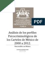 Análisis de los perfiles Psicocriminologicos de los Carteles de México de 2000 a 2012.docx