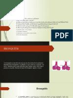 Bronquitis aguda, crónica y enfisema