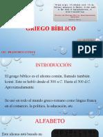 GRIEGO BÍBLICO.pptx