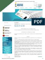 CPIQ - Consejo Profesional de Ingeniería Química de Colombia - Decreto 371 de 1982