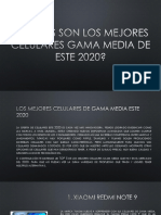 Los Mejores Celulares de Gama Media Este 2020