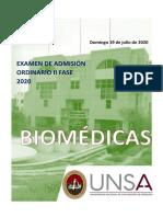 examenUNSA-IIordinario2020-biomedicas