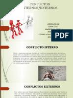 CONFLICTOS INTERNOS- EXTERNOS