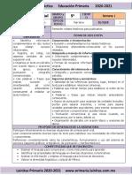 Septiembre - 5to Grado Español (2020-2021)