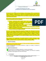 TDR-Apoyo Administrativo y tecnico en sistemas