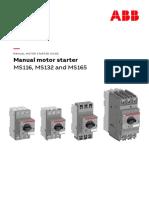 Manual Motor Starters ABB (Guardamotores).pdf