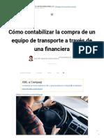 Cómo contabilizar la compra de un equipo de transporte a través de una financiera - S I Castro Consultores, S. C_.pdf