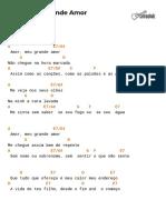 Cifra Club - Angela Rô Rô - Amor, Meu Grande Amor.pdf
