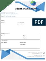 Formulaire inscription GLOBAL ELITE ACADEMY