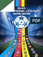 Guía de La Champions League 2015-2016