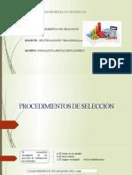 PROCEDIMIENTOS DE SELECCION GONZALES PLASENCIA DIEGO ALFREDO .pptx