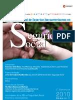 Revista REI de Seguridad Social -  2 semestre, 2010