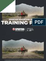 Spartan Mt Series Training Plan