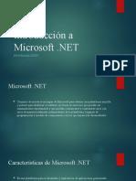 Introducción a Microsoft dotNet