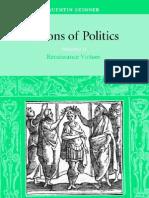 Q Skinner Visions of Politics 2