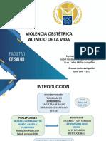 VIOLENCIA OBSTÉTRICA AL INICIO DE LA VIDA-REDIPE-2019.-1