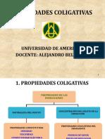CAPITULO 2- PROPIEDADES COLIGATIVAS