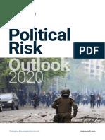 Verisk Maplecroft Political Risk Outlook 2020 - Estudio de perspectiva de riesgo político 2020