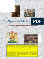The Mysteries of Life Revealed Part 1   (The Merovingians and Other Bloodlines)