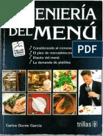 Ingeniería del Menú - Carlos Durón García, Trillas Editorial 2011.pdf
