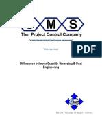 Quantity Surveying vs Cost Engineering
