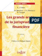 Les grands arrêts de la JP financière 2007