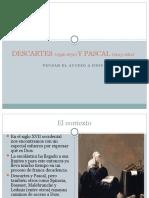 03 DESCARTES (1596-1650) Y PASCAL (1623-1662