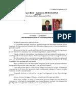 Senatoriales 2020 - Courrier Et Profession de Foi