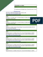 Libros ebook de bimestre y sus enlaces
