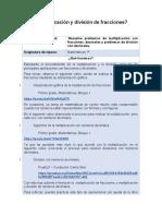 25_agosto_ Multiplicación y división de fracciones