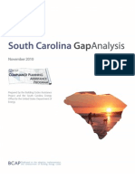South Carolina Gap Analysis Report