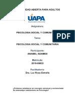 trabajo final de psicologia social y comunitaria