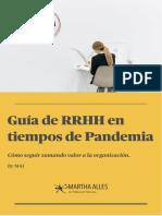 Guia de RRHH en tiempos de pandemia - Martha Allens