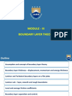 Concept of boundary layer