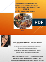 AULA 01 - INTRODUÇÃO Á BROMATOLOGIA