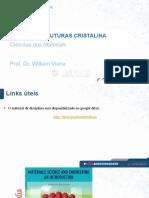 Aula 03 a- Estruturas Cristalina - Ciências Dos Materiais- - Unifacs
