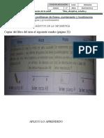 Clases de elementos basicos de la geometria