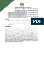 DETERMINACIÓN DE GRASAS Y ACEITES