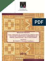 """""""PROBLEMAS DE LEGITIMACION DEL DERECHO PENAL (4)"""