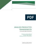 analisis productos transgenicos
