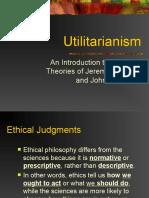 Utilitarianism bentham mill G