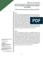 Artigo - TCC e as funções executivas em crianças com TDAH.pdf