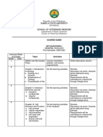 vet electives zoology course guide