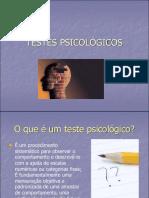 Slide - Aula 01 - Testes psicológicos