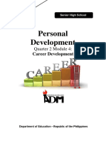 7. EsP 11 1st Sem. Module4 Career Development Version 3