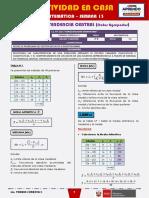 SEMANA 13 - MEDIDAS DE TENDENCIA CENTRAL (Datos Agrupados) [4to MATEMÁTICA]